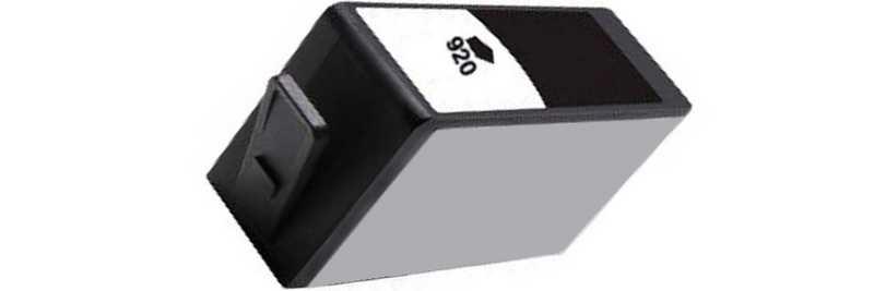 2x HP 920XL (CD975AE) black černá kompatibilní inkoustová cartridge pro tiskárnu HP OfficeJet 6500a