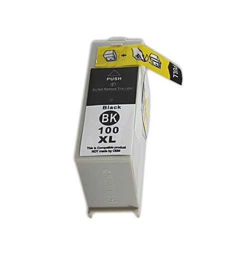 Lexmark 14N1068E - 100XL black černá inkoustová kompatibilní cartridge pro tiskárnu Lexmark Platinum Pro905