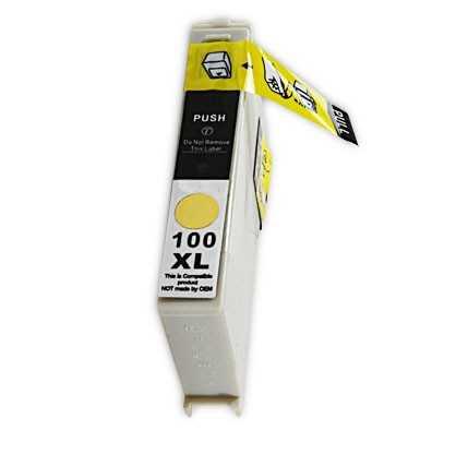 Lexmark 14N1071E - 100XL yellow žlutá inkoustová kompatibilní cartridge pro tiskárnu Lexmark Platinum Pro905