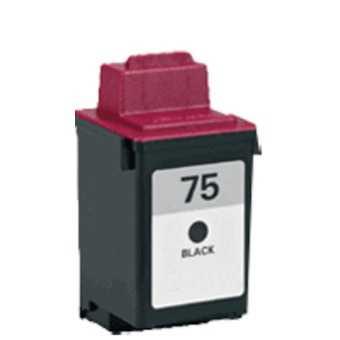 Lexmark 12A1975 - black černá inkoustová kompatibilní cartridge pro tiskárnu Lexmark ColorJetPrinter 7200
