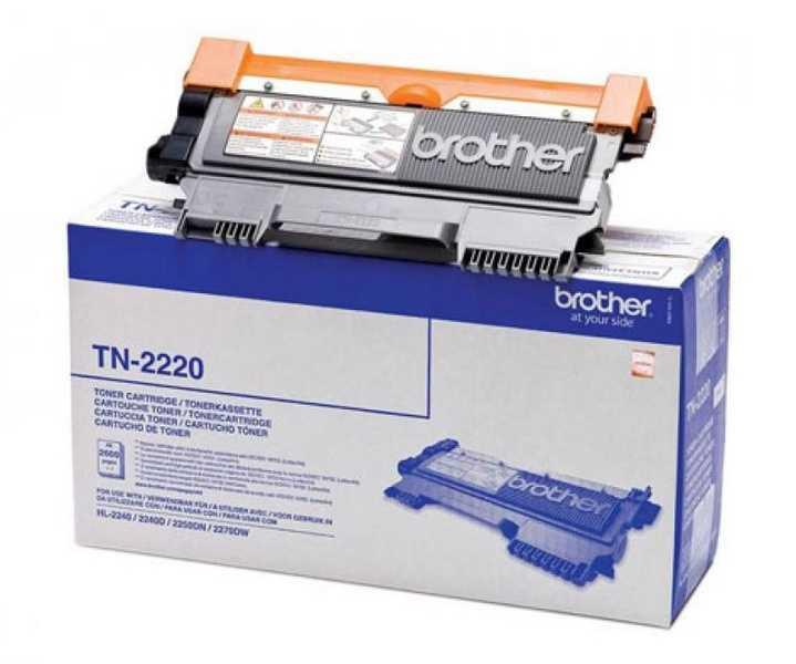 originál Brother TN-2220 black černý originální toner pro tiskárnu Brother