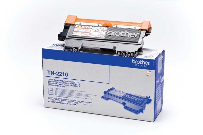 originál Brother TN-2210 black černý originální toner pro tiskárnu Brother Brother TN-2210