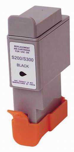 Canon BCI-24BK black černá kompatibilní inkoustová náplň pro tiskárnu Canon MPC190