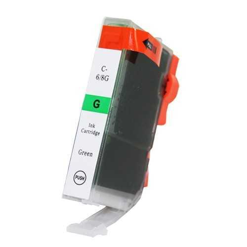 Canon BCI-6G green zelená cartridge kompatibilní inkoustová náplň pro tiskárnu Canon