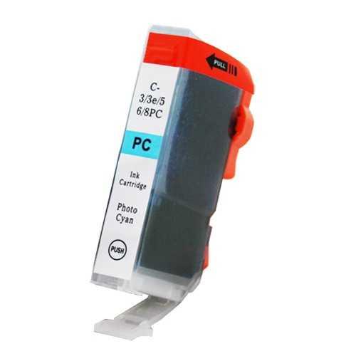 Canon BCI-6pc photo cyan modrá foto cartridge kompatibilní inkoustová náplň pro tiskárnu Canon BCI-6