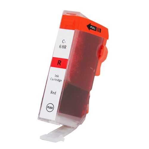 Canon BCI-6R red magenta červená cartridge kompatibilní inkoustová náplň pro tiskárnu Canon BCI-6