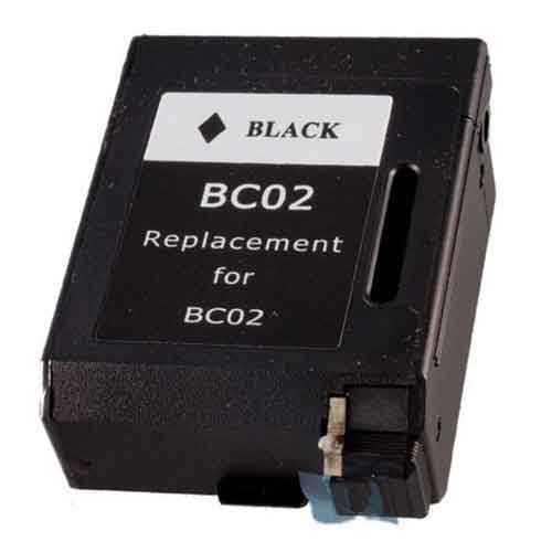 Canon BC-02 black černá kompatibilní inkoustová carteridge pro tiskárnu Canon BC-02