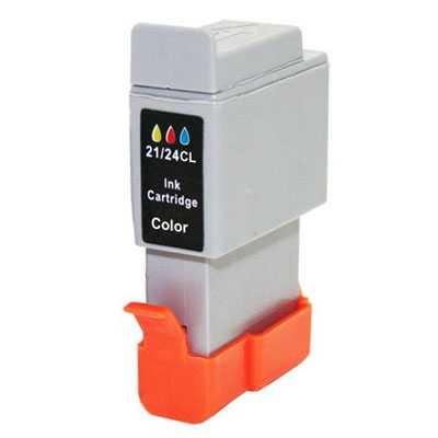 Canon BCI-24C color barevná cartridge kompatibilní inkoustová náplň pro tiskárnu Canon BCI-21/BCI-24