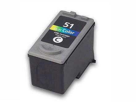 Canon CL-51 color barevná kompatibilní inkoustová náplň pro tiskárnu Canon PIXMA IP2200