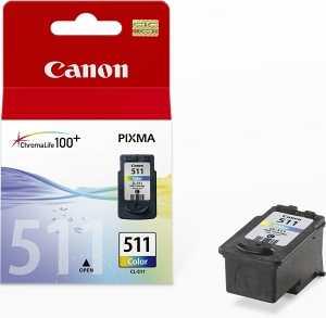 originál Canon CL-511 barevná originální cartridge inkoustová náplň pro tiskárnu Canon PIXMA MP250