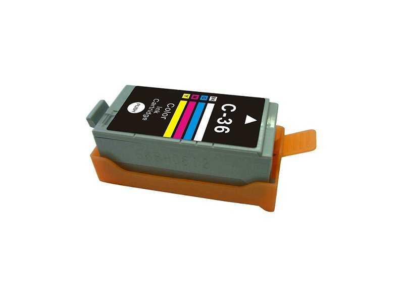Canon CLi-36 color cartridge barevná kompatibilní inkoustová náplň pro tiskárnu Canon PGI-35/CLI-36