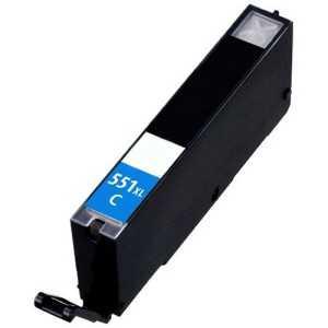 Canon CLI-551c XL cyan cartridge modrá azurová kompatibilní inkoustová náplň pro tiskárnu Canon Pixma MG5500