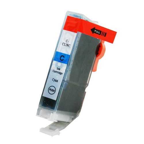 Canon CLI-8C cyan cartridge modrá s čipem kompatibilní inkoustová náplň pro tiskárnu Canon PGI-5/CLI-8