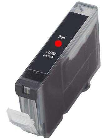 Canon CLI-8R red cartridge červená s čipem kompatibilní inkoustová náplň pro tiskárnu Canon PGI-5/CLI-8