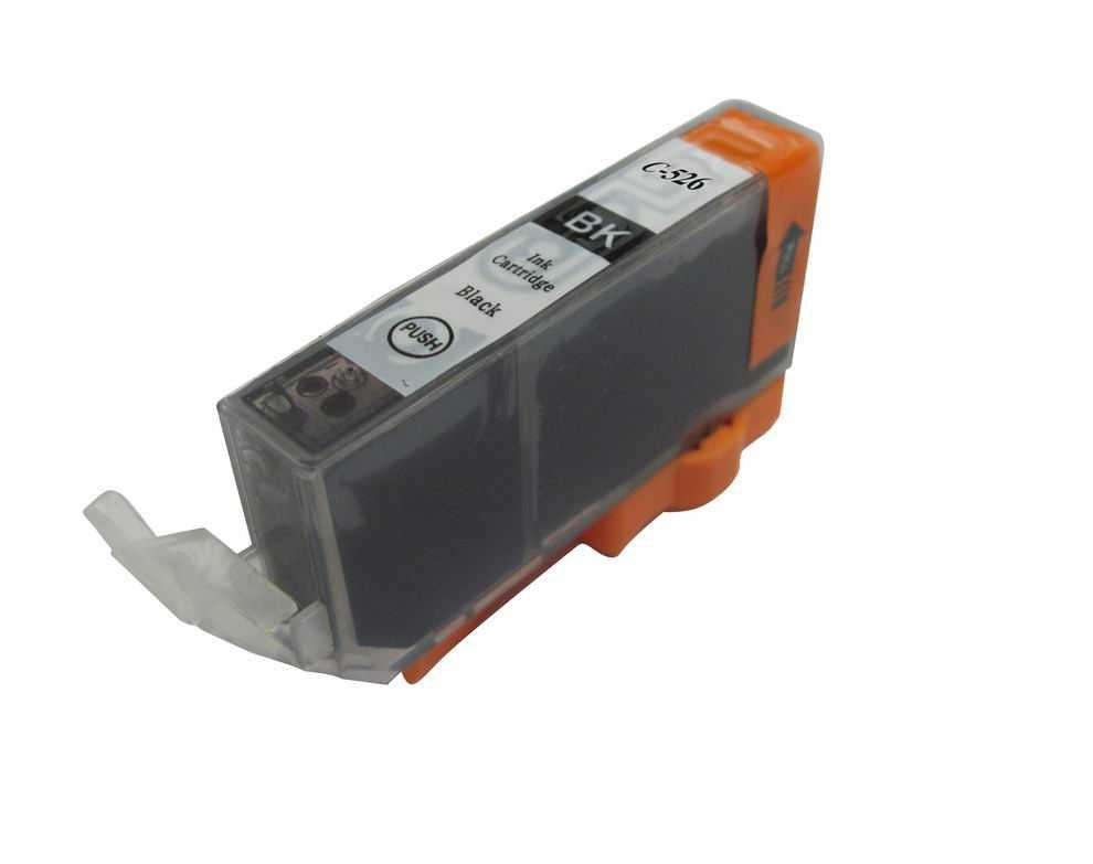 Canon CLI-526bk black cartridge černá foto kompatibilní inkoustová náplň pro tiskárnu Canon PIXMA IX6550