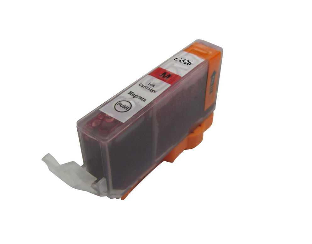 Canon CLI-526m magenta cartridge purpurová kompatibilní inkoustová náplň pro tiskárnu Canon PIXMA IX6550
