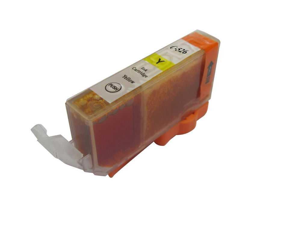 Canon CLI-526y yellow cartridge žlutá kompatibilní inkoustová náplň pro tiskárnu Canon PIXMA IX6550