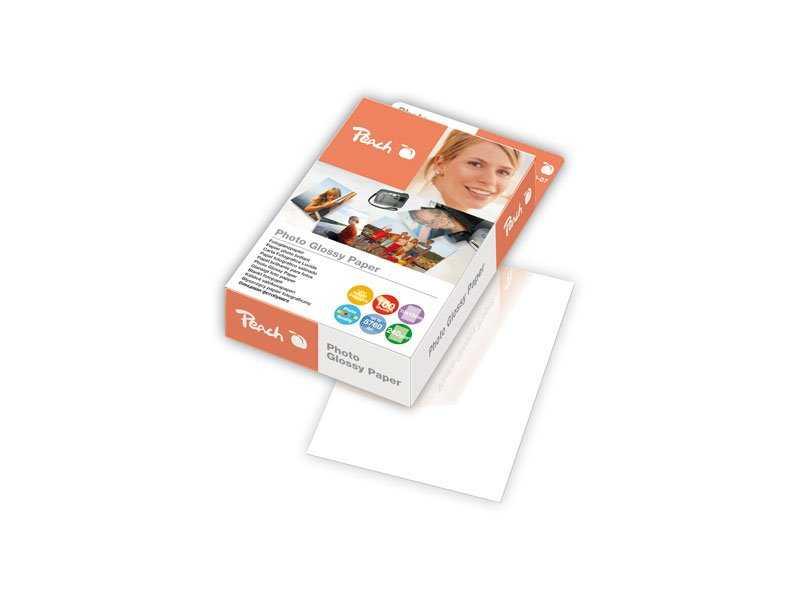 Fotografický papír Peach lesklý, 10x15cm 240g 100 listů Fotopapíry