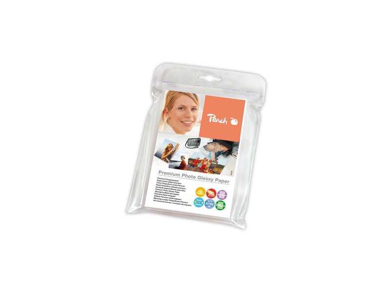 Fotografický papír Peach lesklý, 10x15cm 260g 50 listů Fotopapíry