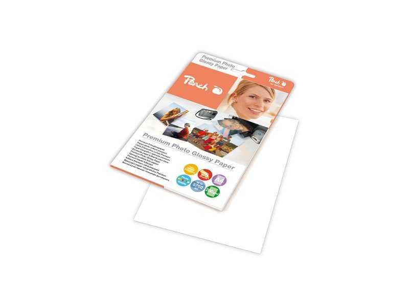 Fotografický papír Peach lesklý, A4 260g 25 listů Fotopapíry