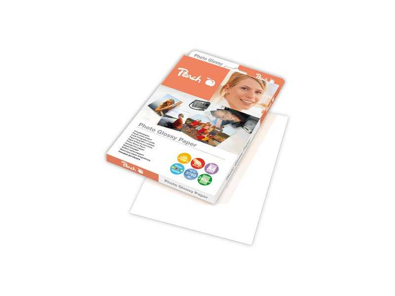 Fotografický papír Peach lesklý, A4 240g 50 listů Fotopapíry