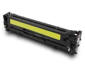 HP CB542A, HP 125A yellow žlutý kompatibilní toner pro tiskárnu HP Color LaserJet CP1515n