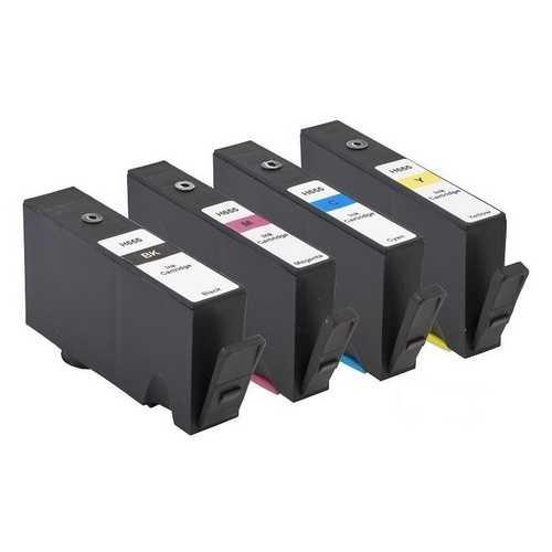 sada HP 655 - 4 kompatibilní inkoustové cartridge pro tiskárnu HP DeskJet Ink Advantage 4625