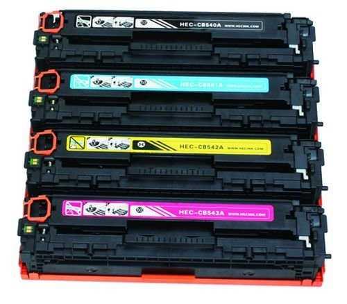 sada HP 125A (HP CB540A, CB541A, CB542A, CB543A) 4x kompatibilní tonery pro tiskárnu HP Color LaserJet CP1515n