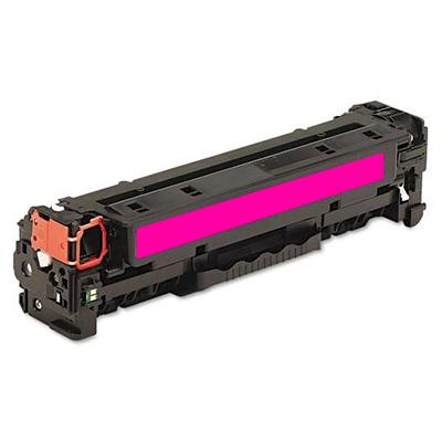 HP CC533A, HP 304A magenta purpurový červený kompatibilní toner pro tiskárnu HP Color LaserJet CP2025dn