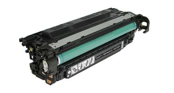 HP CE250X, HP 504X (10500 stran) black černý velkokapacitní kompatibilní toner pro tiskárnu HP Color LaserJet CM3530fs mfp