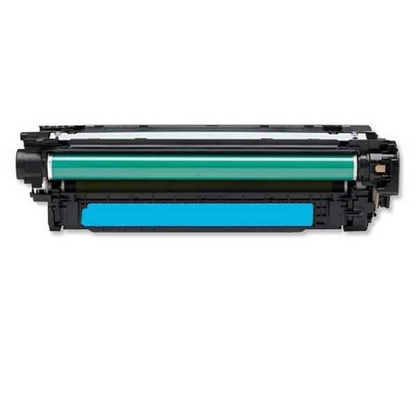 originál HP 507A, HP CE401A (6000 stran) cyan modrý azurový originální toner pro tiskárnu HP Color LaserJet 4700n