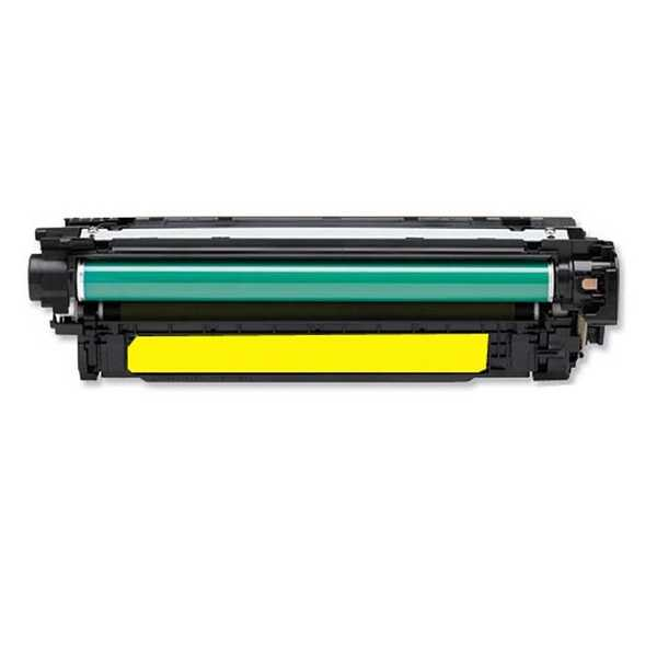 originál HP 507A, HP CE402A (6000 stran) yellow žlutý originální toner pro tiskárnu HP Color LaserJet 4700ph plus