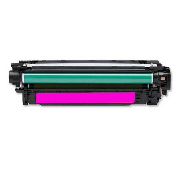 originál HP 507A, HP CE403A (6000 stran) magenta purpurový červený originální toner pro tiskárnu HP LaserJet Pro 500 M570dw