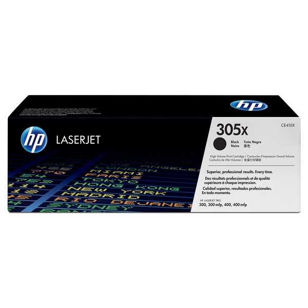 originál HP CE410X (HP 305X) black černý originální toner pro tiskárnu HP LaserJet Pro 400 M475dw