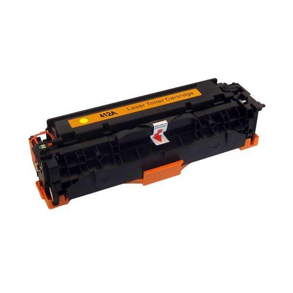 HP CE412A (HP 305A) yellow žlutý kompatibilní toner pro tiskárnu HP LaserJet Pro 400 M475dw