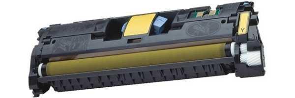 HP Q3962A, HP 122A yellow žlutý kompatibilní toner pro tiskárnu HP Color LaserJet 2550l