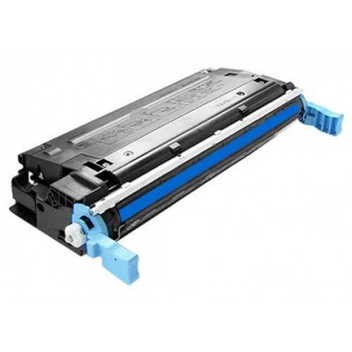 HP 643A, HP Q5951A (10000 stran) cyan modrý azurový kompatibilní toner pro tiskárnu HP Color LaserJet 4700ph plus