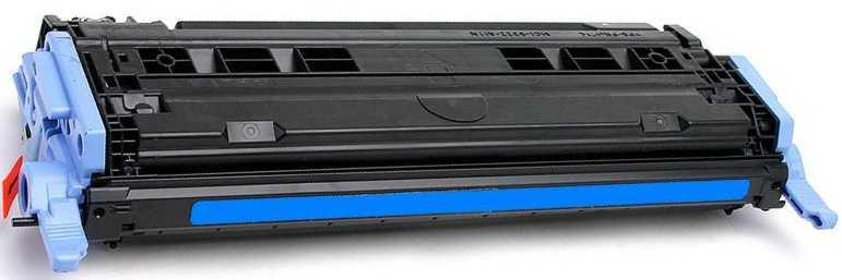 HP Q6001A, HP 124A cyan modrý azurový kompatibilní toner pro tiskárnu HP Color LaserJet 1600