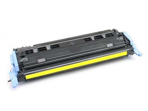 HP Q6002A, HP 124A yellow žlutý kompatibilní toner pro tiskárnu HP Color LaserJet 1600