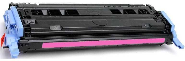 HP Q6003A, HP 124A magenta purpurový červený kompatibilní toner pro tiskárnu HP Color LaserJet 1600