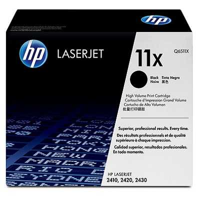 originál HP 11X, HP Q6511X black černý originální toner pro tiskárnu HP LaserJet 2430tn