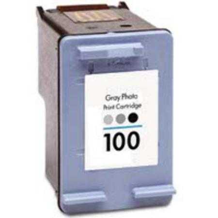HP 100 (C3968AE) grey šedá cartridge kompatibilní inkoustová náplň pro tiskárnu HP OfficeJet 7310