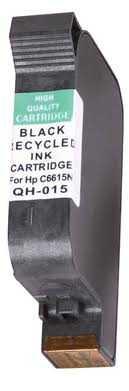 HP15 (C6615A - C6615D) black cartridge černá kompatibilní inkoustová náplň pro tiskárnu HP HP 15 (C6615A)