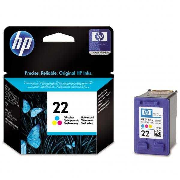 originál HP 22 XL (C9352A) color cartridge originální barevná inkoustová náplň pro tiskárnu HP OfficeJet 5615