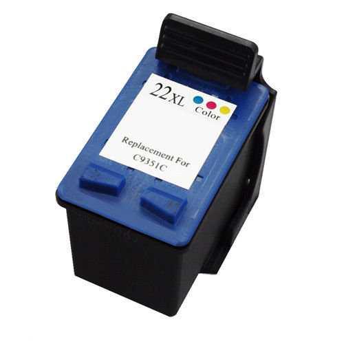 HP 22XL (C9352CE) color cartridge kompatibilní barevná inkoustová náplň pro tiskárnu HP DeskJet F2180