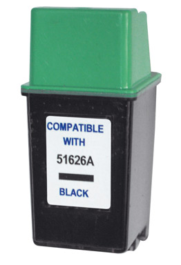 HP26 (51626A) black černá cartridge kompatibilní inkoustová náplň pro tiskárnu HP OfficeJet 300