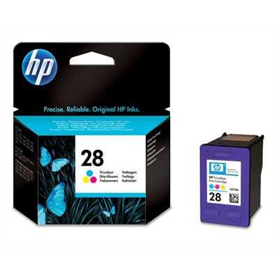 originál HP28 (C8728AE) color barevná cartridge originální inkoustová náplň pro tiskárnu HP HP 28 (C8728A)