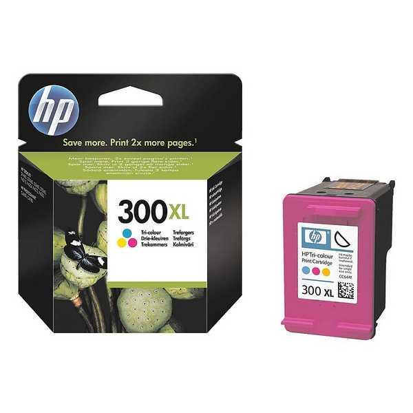 originál HP 300XL color (CC644EE) barevná inkoustová originální cartridge pro tiskárnu HP HP 300 XL (CC641EE