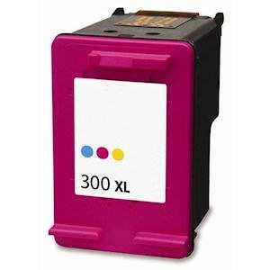 HP 300XL color (CC644EE) inkoustová kompatibilní barevná cartridge pro tiskárnu HP DeskJet F4580