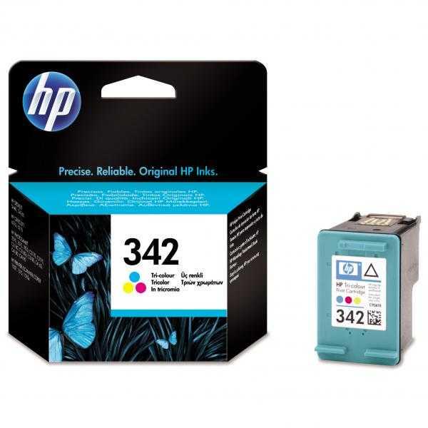 originál HP 342 (C9361E) color barevná cartridge originální inkoustová náplň pro tiskárnu HP PSC1500